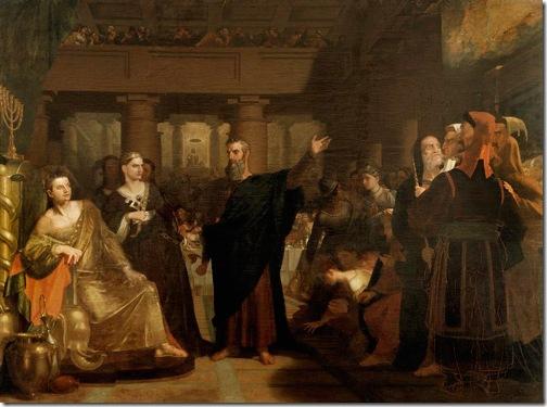Belshazzar's Feast, 1817/1843, Washington Allston