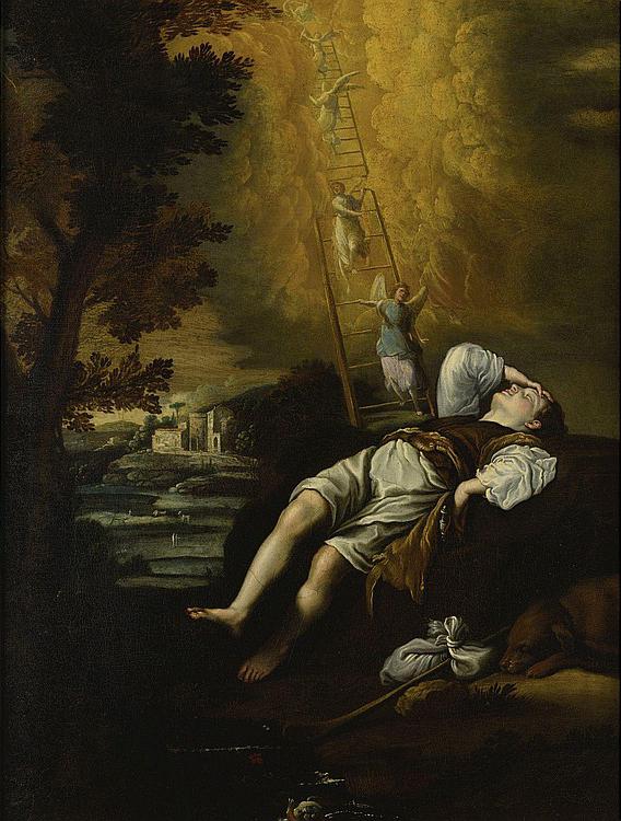 Jacob's Dream (Sogno di Giacobbe), 1600s, Circle of Domenico Fetti