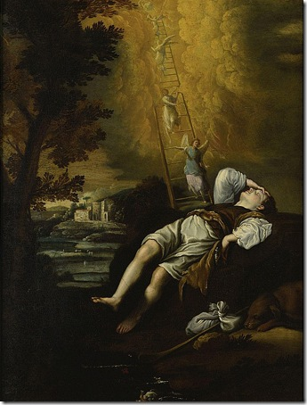 Jacob's Dream (Sogno di Giacobbe), 1600s, Circle of Domenico Fetti