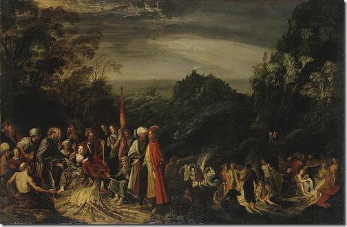 Miracle of St. Paul on the Island of Malta, 1620-23, David Teniers I
