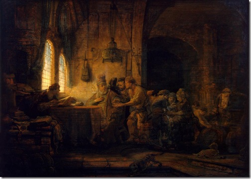 Parable of the Labourers in the Vineyard, 1637, Rembrandt van Rijn