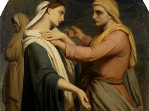 Ruth and Naomi, ca. 1854, Ary Scheffer