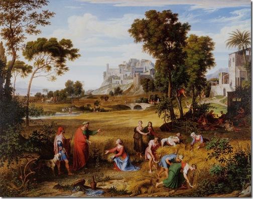 Landscape with Ruth and Boaz, ca. 1823–25, Joseph Anton Koch