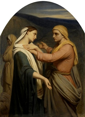 Ruth and Naomi, ca. 1854, Ary Scheffer