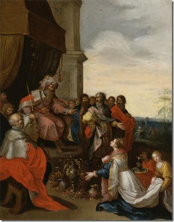 King Solomon Receiving the Queen of Sheba, 1620-1629, Frans Francken II