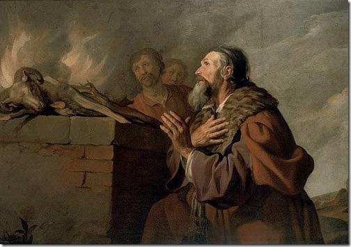 Abraham's Sacrifice, c. 1629-1630, Jacob Backer