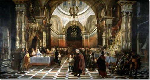 Belshazzar's Feast, 1649, Juan Carreño de Miranda