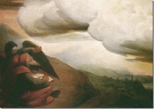 DETAIL: Four Horsemen of the Apocalypse (Die apokalyptischen Reiter / Les Quatre Cavaliers de l'Apocalypse), 1838, Edward von Steinle