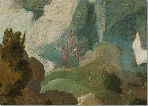 DETAIL: Mary Magdalene (Maria Magdalena), c. 1528, Jan van Scorel
