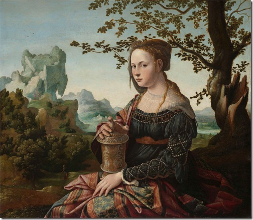 Mary Magdalene (Maria Magdalena), c. 1528, Jan van Scorel