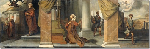 The Pharisee and the Publican (De Farizeeër en de tollenaar), 1661, Barent Fabritius