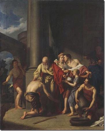 The return of the prodigal son (Le retour de l'enfant prodigue), 1782, Augustin-Louis Belle