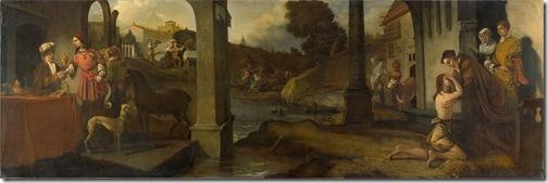 The prodigal son (De verloren zoon), 1661, Barent Fabritius