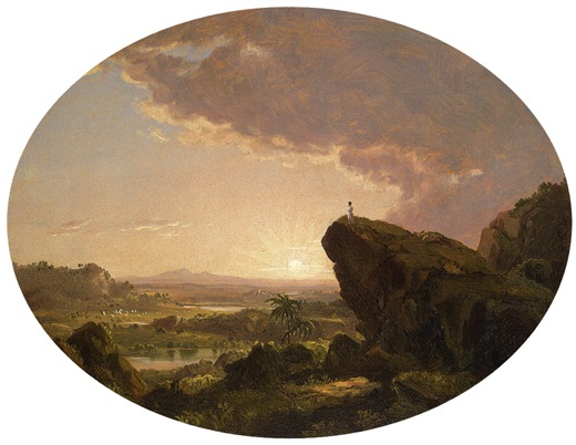 Moses Viewing the Promised Land, 1846, Frederic Edwin Church