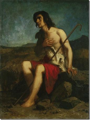 The prodigal son (Der verlorene Sohn), 1858, Albert Anker