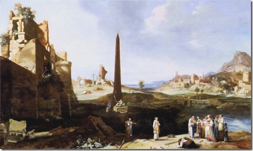 The Finding of Moses, 1639, Bartholomeus Breenbergh