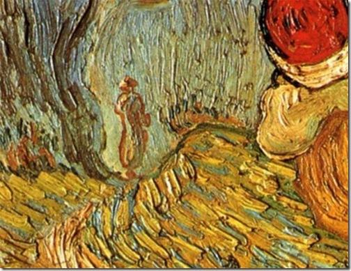 DETAIL: The Good Samaritan, After Delacroix (De barmhartige Samaritaan, naar Delacroix), Saint-Rémy, May, 1890, Vincent Van Gogh