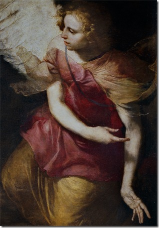 DETAIL: St. Peter Freed by an Angel (San Pedro, libertado por un ángel), 1639, Jusepe de Ribera