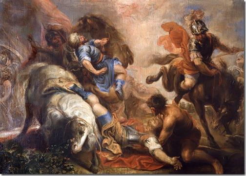 The Conversion of St Paul (La conversión de San Pablo), 1660-1670, Juan Antonio Frías y Escalante