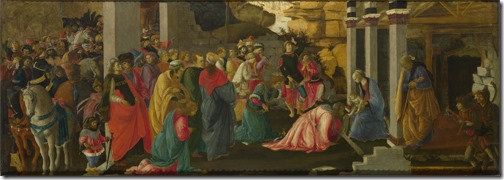 "The Adoration of the Magi (""Adoration of the Kings""), ca. 1465-1467, Sandro Botticelli and Filippino Lippi"