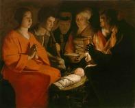 A Adoração dos Pastores – Georges de La Tour