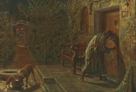 The Importunate Neighbour, 1895, William Holman Hunt