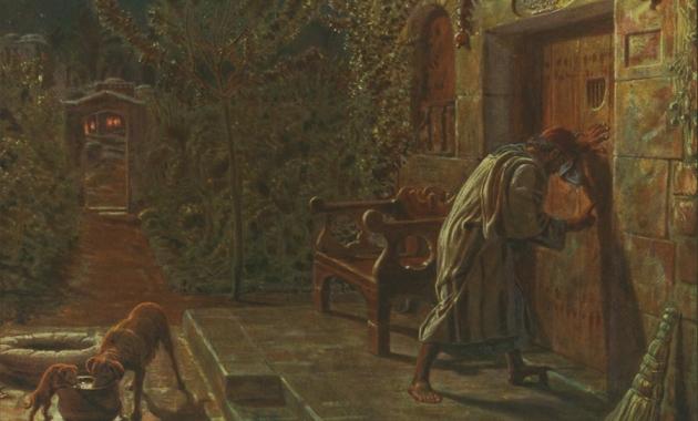 The Importunate Neighbour, 1895, William Holman Hunt