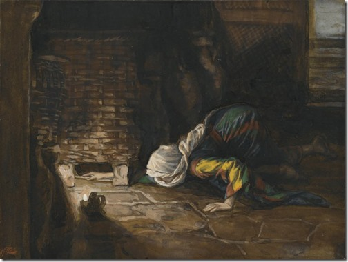 The Lost Drachma (La drachme perdue), 1886-1894, James Tissot