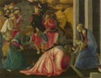 A Adoração dos Magos – Botticelli e Filippino Lippi