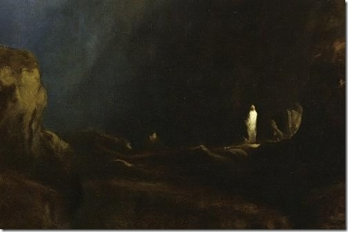 DETAIL: The Valley of the Shadow of Death, 1867 , George Inness