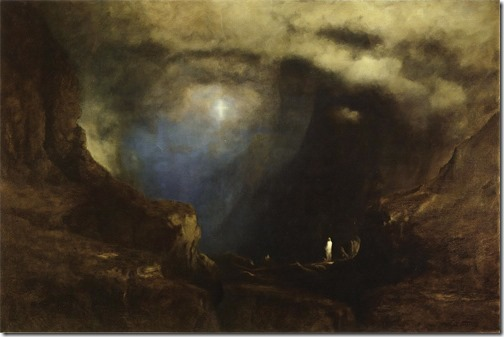 The Valley of the Shadow of Death, 1867 , George Inness
