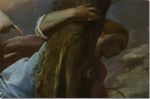 DETAIL: The Finding of Moses, 1645-55, Antonio De Bellis