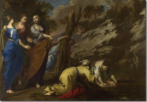 The Finding of Moses, 1645-55, Antonio De Bellis