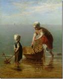 Mãe e Filho Junto ao Mar – Jozef Israëls