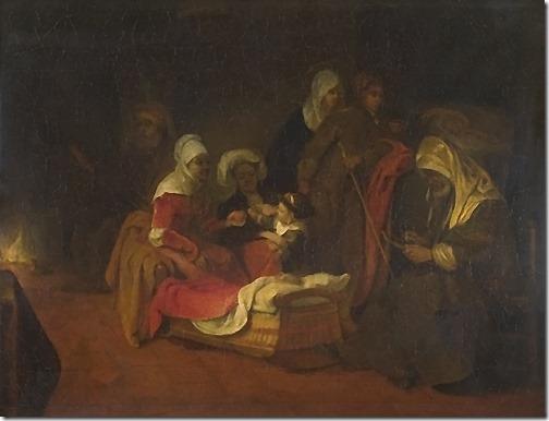 The Naming of Saint John the Baptist, c. 1650-1655, Barent Fabritius