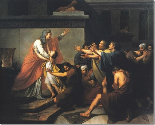 Joseph Recognised by His Brothers (Joseph reconnu par ses frères), 1789, François Gérard