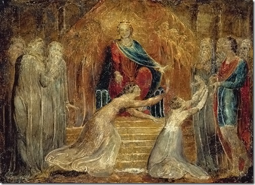 The Judgment of Solomon, ca. 1799-1800, William Blake