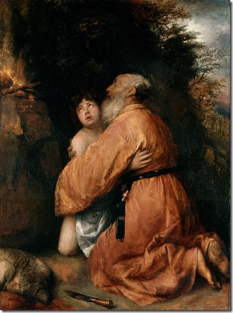 Abraham and Isaac (The Sacrifice of Isaac / Opferung Isaaks / Le Sacrifice d'Abraham), c. 1637/1638, Jan Lievens