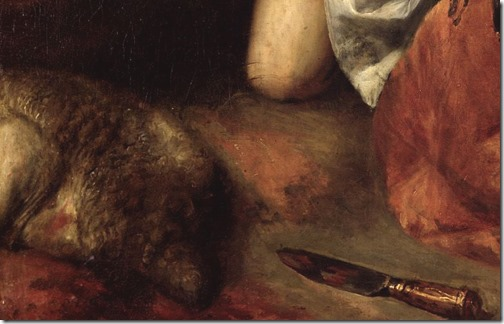 DETAIL: Abraham and Isaac (The Sacrifice of Isaac / Opferung Isaaks / Le Sacrifice d'Abraham), c. 1637/1638, Jan Lievens