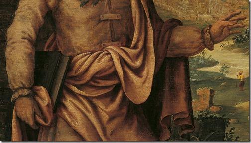 DETAIL: Prophet Isaiah predicts the return of the Jews from exile (De profeet Jesaja voorspelt de terugkeer van de Joden uit de ballingschap), 1560-1565, Maarten van Heemskerck