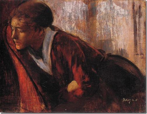Melancholy, c. 1867-70, Edgar Degas