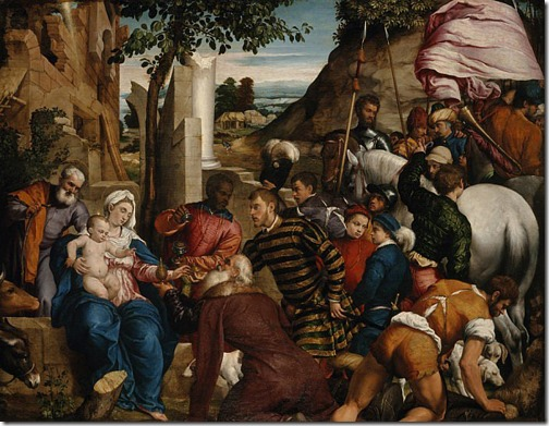 The Adoration of the Kings, early 1540s, Jacopo Bassano