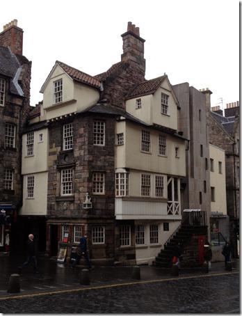 John Knox's House, 2014, Royal Mille, Edinburgh, Scotland. Photo: Gilson Santos