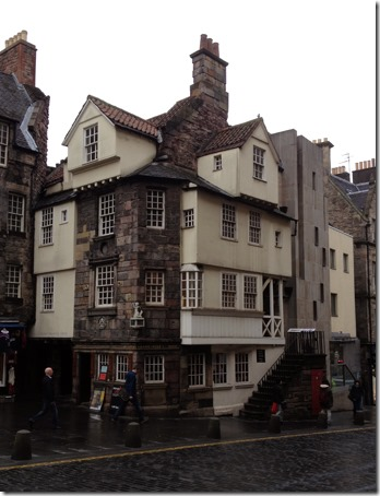 John Knox's House, 2014, Royal Mille, Edinburgh, Scotland. Photo: Gilson Santos