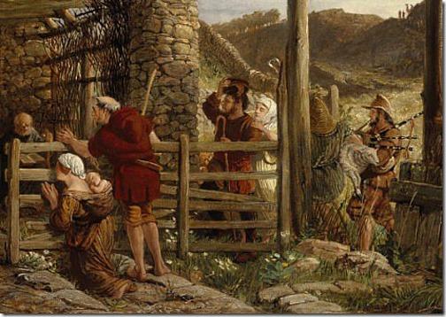 The Nativity, 1872, William Bell Scott, detail