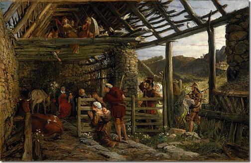 The Nativity, 1872, William Bell Scott