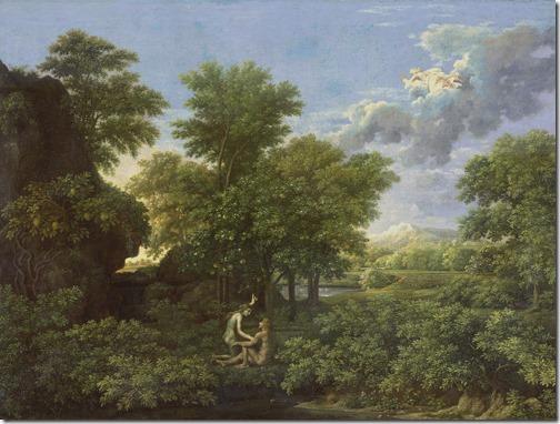 The Spring (The Garden of Eden) / Le Printemps (Le Paradis Terrestre), 1660-1664, Nicolas Poussin