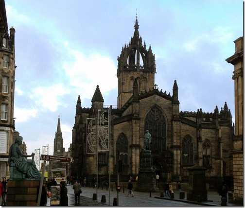 Saint Giles Cathedral, Edinburgh, Scotland
