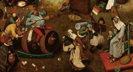 A Batalha entre o Carnaval e a Quaresma – Bruegel