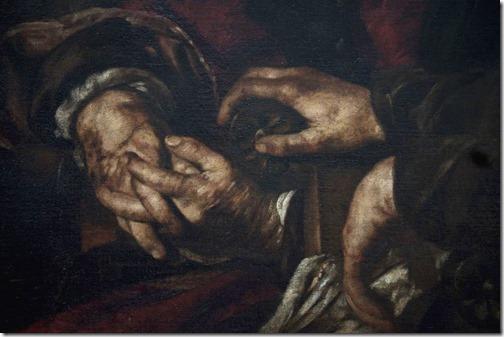 DETAIL: Christ among the Doctors (Le Christ parmi les docteurs), 1625, Giovanni Serodine